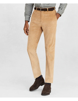 Golden Fleece® Corduroy Chino Trousers by Brooks Brothers