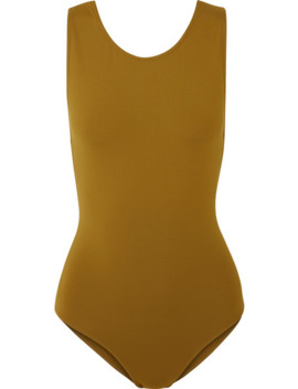 poker-full-cut-out-swimsuit by eres