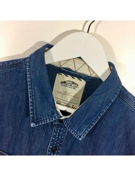 Vans Denim Shirt    Free Uk Shipping!   Size Men's by Depop