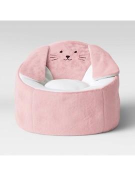 Kids' Character Bean Bag Chair Bunny Pink   Pillowfort™ by Pillowfort