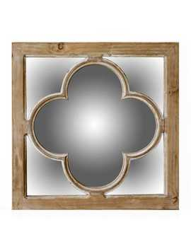 Antiqued Natural Finish Mirror by Pier1 Imports