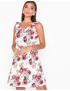 Vmane S/L Frill Short Dress Exp by Vero Moda