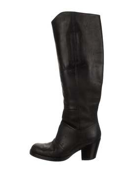 Leather Knee High Boots by Acne Studios