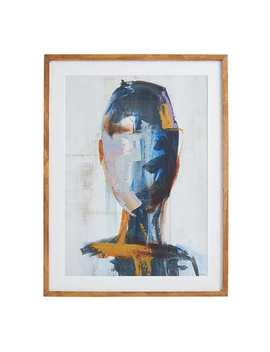 Contemplative Thinker Framed Wall Art by Pier1 Imports