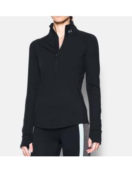 Cold Gear® ½ Zip Women's Long Sleeve Shirt by Under Armour