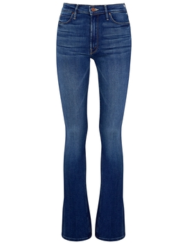 Runaway Blue Bootcut Jeans by Mother