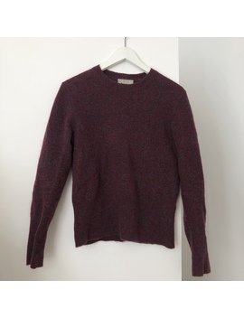 Acne Studio Lia Mohair Paw12 Size S Burgundy Mohair by Depop