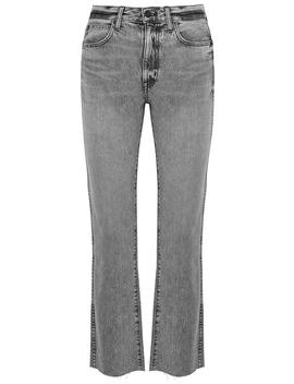 Hero Grey Straight Leg Jeans by Slvrlake