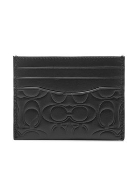 coach-embossed-logo-card-holder by coach