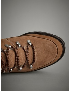AprÈs Ski Ankle Boots With Hooks by Massimo Dutti
