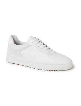 Mono Ripple Shift Sneaker Van Leer En Mesh by Filling Pieces