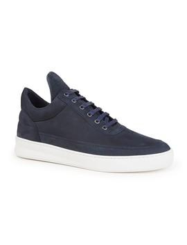 Low Top Plain Lane Sneaker Van Nubuck by Filling Pieces