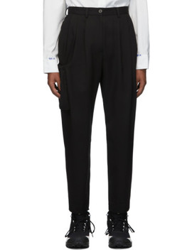 Black Rily Trousers by Ader Error