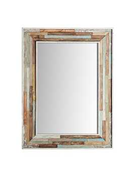 Wood Planked 30x40 Mirror by Pier1 Imports