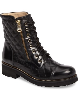 Tiffany Water Resistant Combat Boot by Ron White