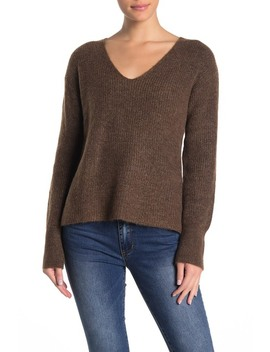 V Neck Knit Sweater by Free Press