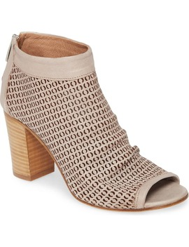 Shyla Perforated Peep Toe Bootie by Ron White