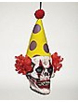 Hanging Clown Head   Decorations by Spencers