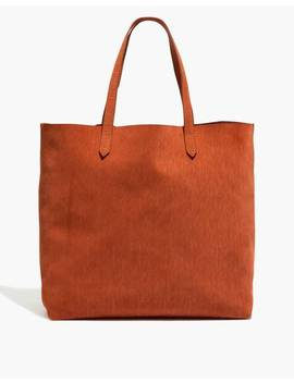 The Transport Tote: Corduroy Suede Edition by Madewell