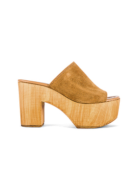 Playdate Mule In Chestnut Suede by Steve Madden