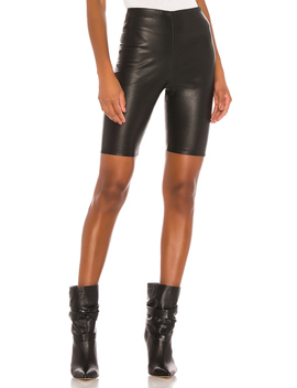 Carter Leather Bicycle Shorts by Grlfrnd