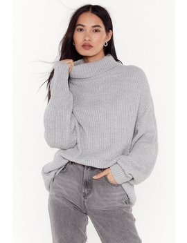 Roll On The Weekend Turtleneck Jumper by Nasty Gal