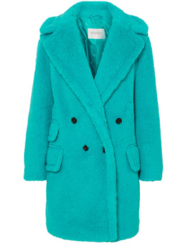 Adenia Alpaca, Wool And Silk Blend Coat by Max Mara
