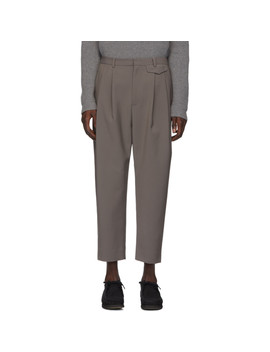 Grey Wyatt Trousers by Deveaux New York