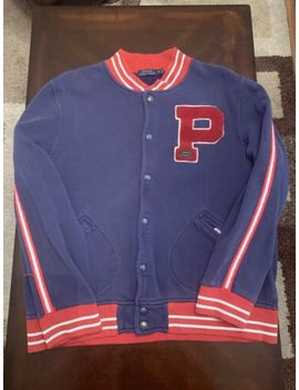 Polo Ralph Lauren P Varsity Jacket Size Xl by Polo Ralph Lauren