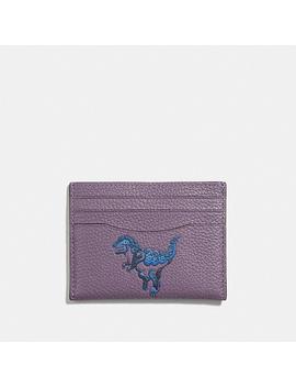Card Case With Rexy By Zhu Jingyi by Coach