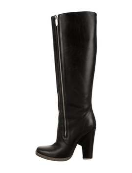 Leather Knee High Boots by Theyskens' Theory