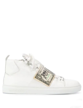 'visvim' High Top Sneakers by Philipp Plein