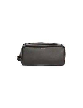 Grained Leather Toiletry Case by Saint Laurent