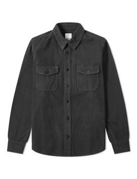 Visvim Black Elk Flannel Shirt by Visvim
