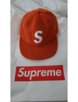 Supreme Wool S Logo 6 Panel Hat Orange by Supreme  ×