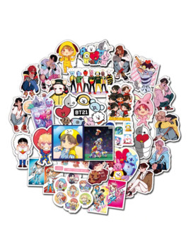 New Arrival Graffiti Stickers 50pcs/Lot Of Non Repetitive Fashion For Car Skateboard Waterproof Stickers by Ali Express.Com