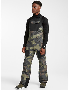 Freedom Camo Bib Pant Regular Fit by The North Face