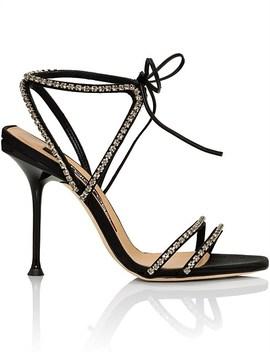 Sr Milano Diamonds Sandal 105 Mm by Sergio Rossi