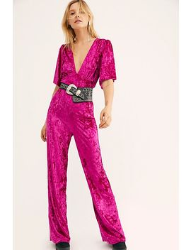 Night Fever Jumpsuit by Free People