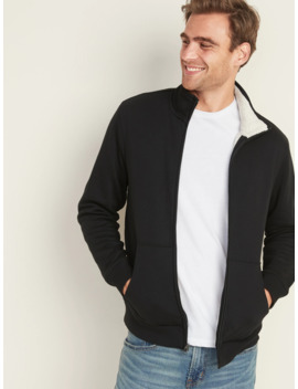Sherpa Lined Zip Jacket For Men by Old Navy