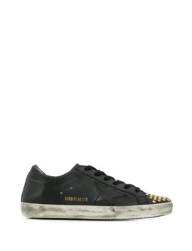 Superstar Studded Sneakers by Golden Goose