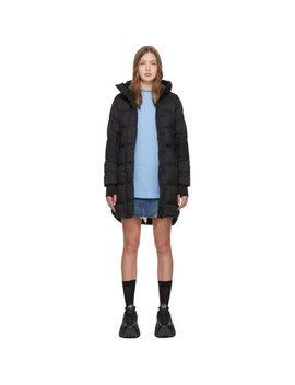 Black Alliston Coat by Canada Goose