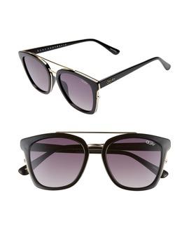 x-chrissy-teigen-sweet-dreams-51mm-square-sunglasses by quay-australia