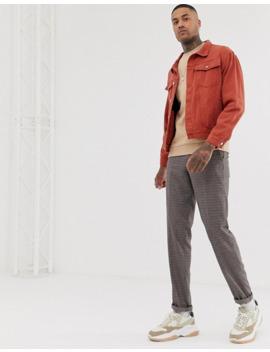 Boohoo Man – Übergroße Jeansjacke In Tabakbraun by Asos