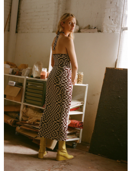 Paloma Wool Lago Dress   Aubergine by Garmentory