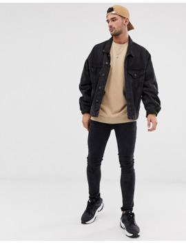 Asos Design – Übergroßes Sweatshirt In Beige by Asos