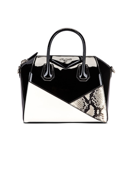 Small Mixed Leather Antigona by Givenchy