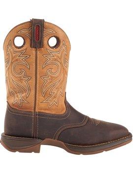 Durango Men's Rebel Steel Toe Waterproof Western Work Boots by Durango
