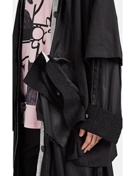 Deconstructed Mixed Media Coat by Raf Simons