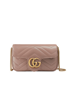 Gg Marmont Super Mini Chain Shoulder Bag by Gucci
